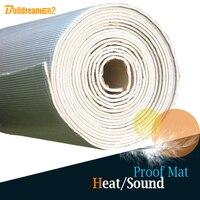 Buildreamen2 1 Roll 8sqm Car Automotive Heat Sound Shield Insulation Proofing Material Mat Aluminum Foil Pad Deadening Deadener