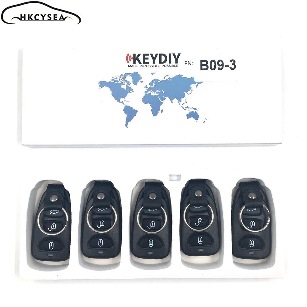 HKOBDII KEYDIY Original KD B11 3 Button B series Universial Remote For KD900 KD X2 URG200