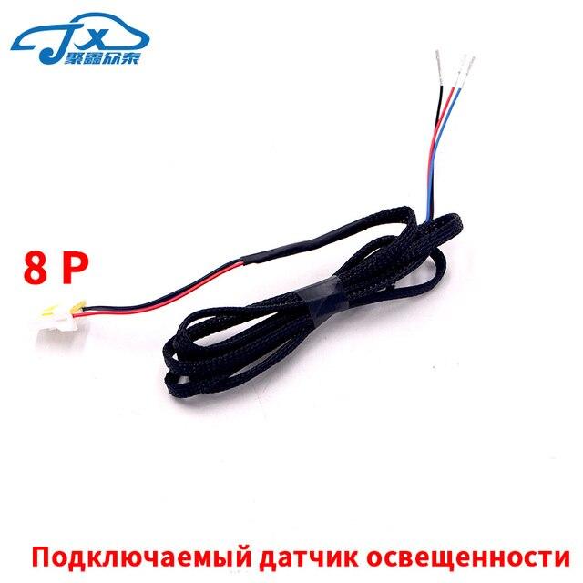 Para Hyundai IX25 Sensor de luz CRETA Sensor de clima Cable conector de arnés Terminal de relicario conector de enchufe Original