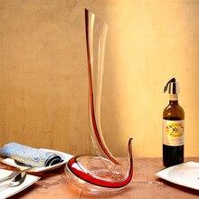 1700mL Crystal Glass Wine Decanter Health Lead-free Distillation Bottle Handmade Blowing Gift Popular