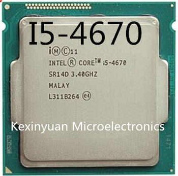 Intel Core i5-4670 i5 4670 Processor Quad-Core LGA1150 Desktop CPU 100% working properly Desktop Processor - DISCOUNT ITEM  20% OFF All Category