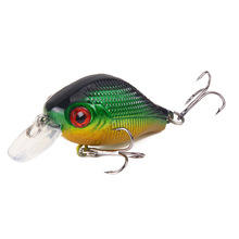 55mm 7.8g Isca Artificial Minnow Sea Fishing Bait Lures Wobblers Slow Sinking Crankbait With 2 Hook Fishing Tackle For River