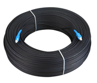 100 м Открытый SC, симплекс FTTH патч-кабель SC Одномодовый симплексный G657A волоконно-оптический патч-корд