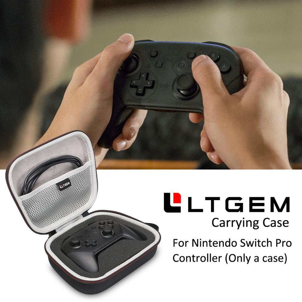 LTGEM Hard Carrying Case For Nintendo Switch Pro Controller Travel BagLTGEM Hard Carrying Case For Nintendo Switch Pro Controller Travel Bag
