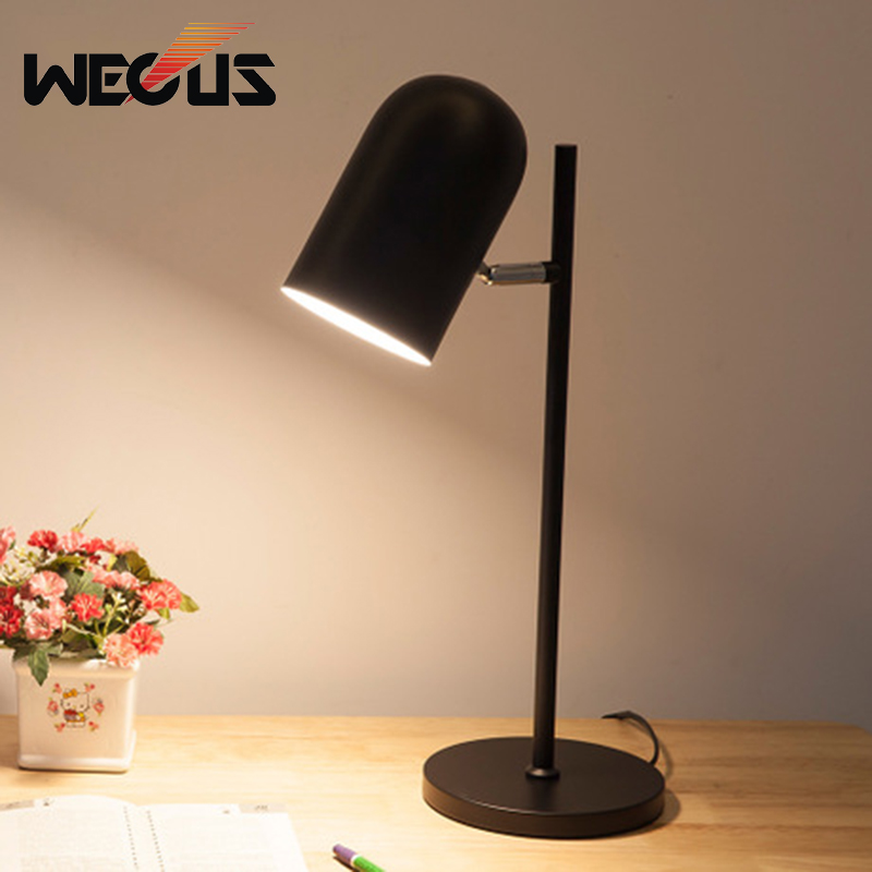 Led Lamps Table Lamp Led Bedside Light Bedroom Room Desk Lamp Bedside Lamp Shade Table Light Night Reading Home Abajur Lamparas Decoration To Make One Feel At Ease And Energetic