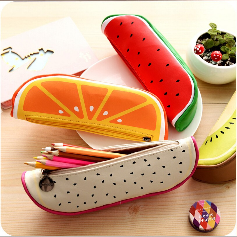 New-Arrival-High-Quality-School-Supplies-Cute-Originality-Fruit-Pattern-Pencil-Case-PU-Leather-Pencil-Bag