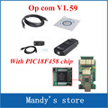 with PIC18F458 chip V1.59 Newly OBD2 Op-com / Op Com / Opcom /for opel scan tool work on xp only