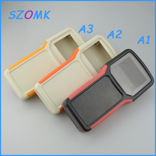 4pcs/lot plastic handheld enclosure abs plastic junction box for electronics