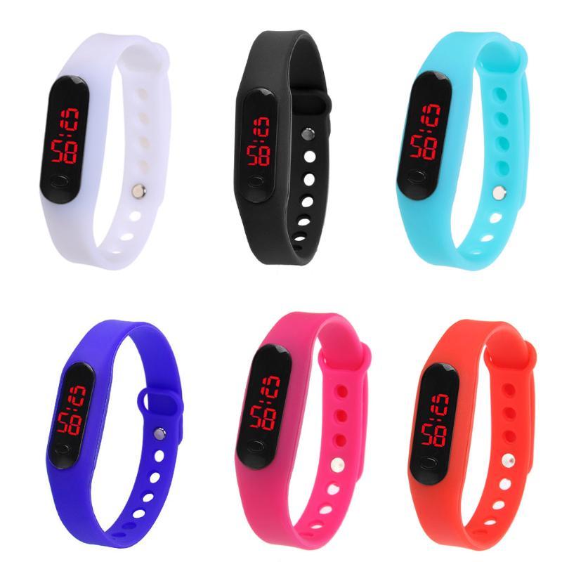 LED Display Plastic Electronic Digital Couple Sport Watch Unisex Bracelet Watch Men Clock Montre Homme Relogio Feminino