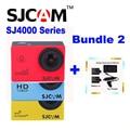 Оригинал SJCAM SJ 4000 & SJ4000 WIFI & SJ4000 Плюс спорт Действий Камеры 1080 P HD Sj Cam DV + 2 Батареи + Двойной Зарядное Устройство + Автомобильное зарядное устройство