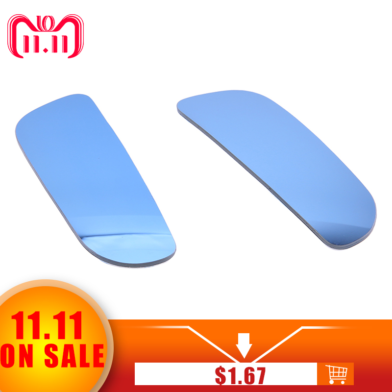 1 Pair Auto Side 360 Wide Angle Convex Mirror Car Vehicle Blind Spot Rearview for Parking Rear View Mirror High Quality 2 in 1 car blind spot mirror wide angle mirror 360 rotation adjustable convex rear view mirror view front wheel car mirror