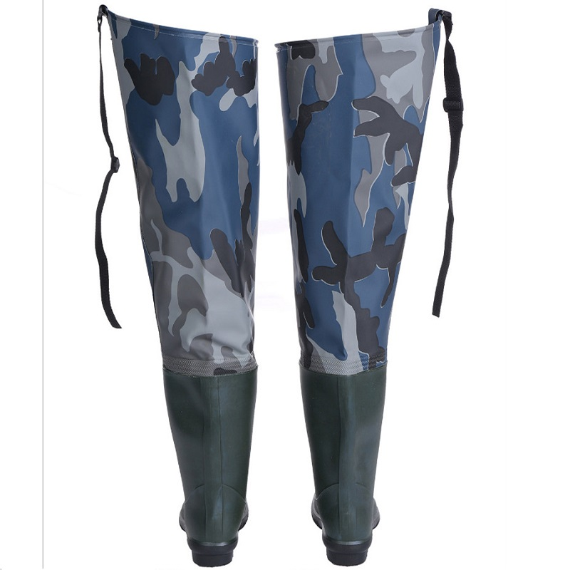 Image 2 - Waterproof Boots Hunting Boots Waders For Fishing Waders Fishing Winter Fishing Boots Wading Shoes Rubber Waders Rubber Boot-in Fishing Waders from Sports & Entertainment