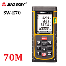 RZ70 SNDWAY Лазерный Дальномер Дальномер 70 м Цифровой trena 229ft Лазерный Дальномер Площадь объем-Угол измерения начиная устройства