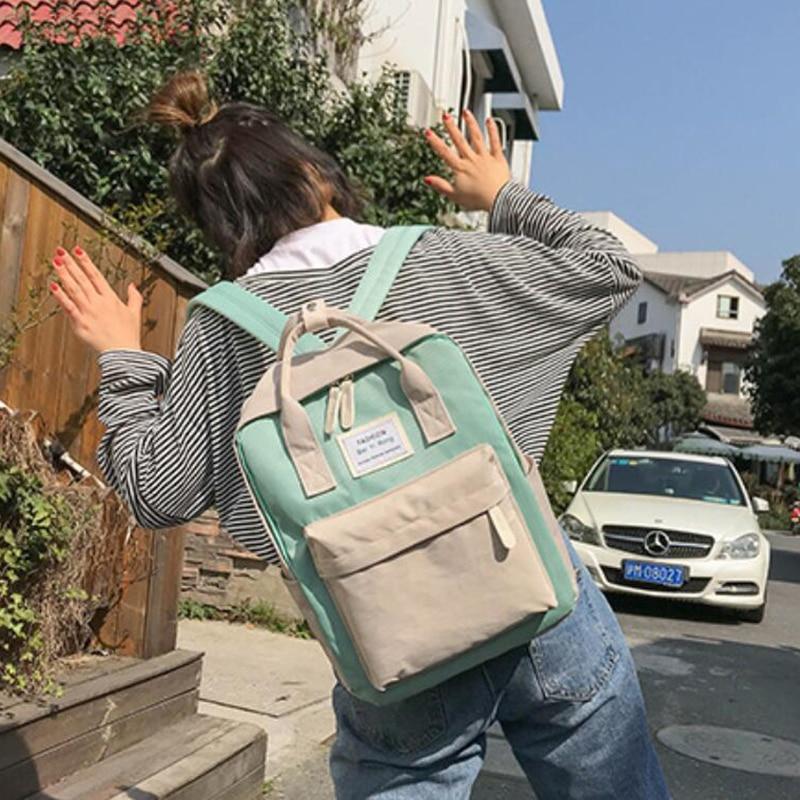 HTB132eRB4uTBuNkHFNRq6A9qpXa4 Yogodlns Campus Women Backpack School Bag for Teenagers College Canvas Female Bagpack 15inch Laptop Back Packs Bolsas Mochila
