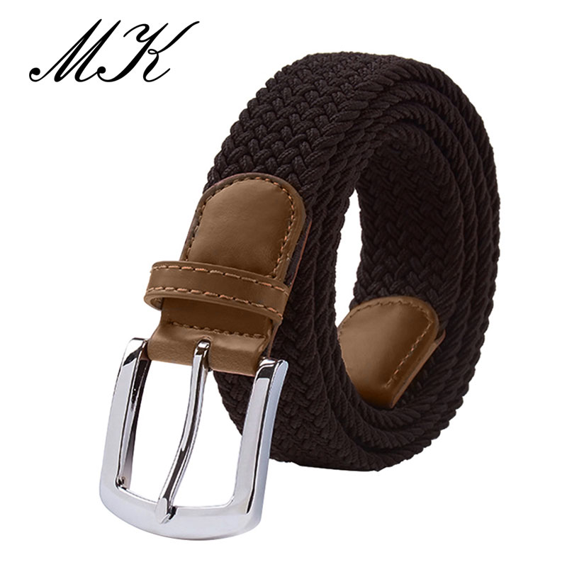MaiKun Men's Belts For Men Belt Metal Pin Buckle Elastic Men Belt Military Tactical Belt