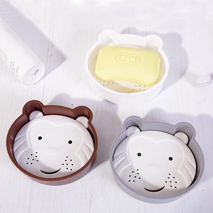 Hello Kitty Sponge Soap Holder Saver Bathroom Dish Suction Caddy Rack Dispensers