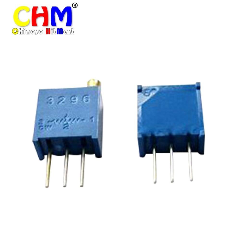 Free shipping 3296W-103 10K potentiometer Trimpot Trimmer Variable Resistors, 3296W adjustable potentiometer 50pcs/lot #F02210