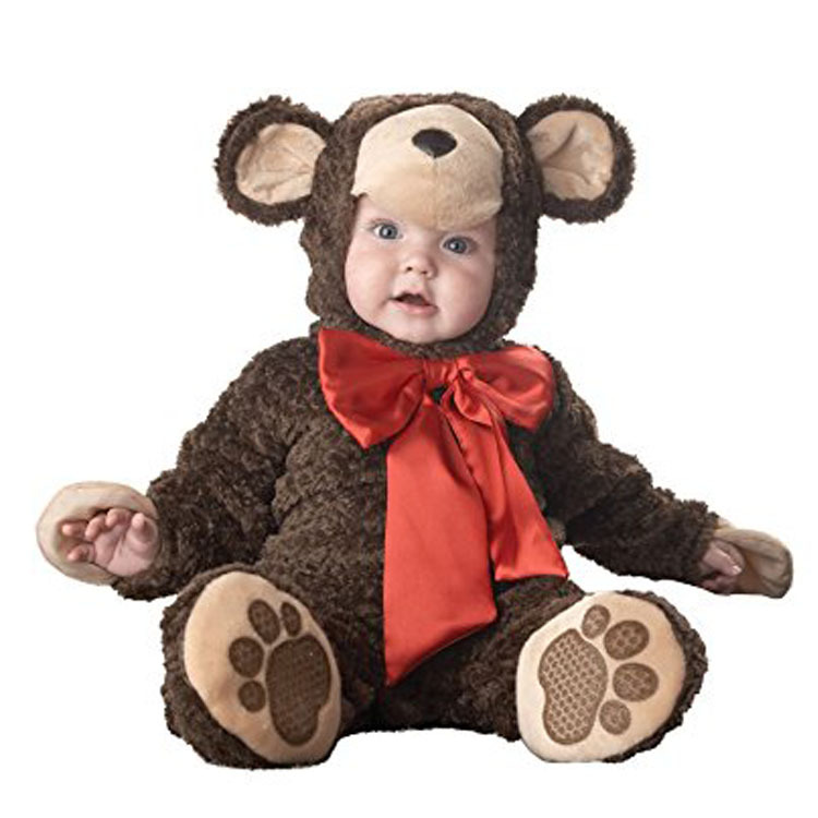 Cute Monkey Baby Girls Halloween Rompers Animal Cosplay Boys Jumpsuits Cartoon Baby Costumes Infants Clothes For Christmas halloween costumes clown dressed up acting cute nose red