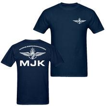 2019 Fashion Double Side Norwegen Mjk Marine Men'S T Shirt Navy Blue Unisex Unisex Tee