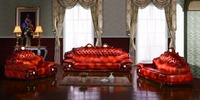 European Leather Sofa Set Living Room Furniture China Sectional Sofa Wooden Frame 1 4 Chaise