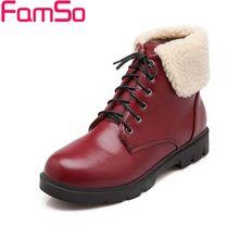 พลัสSize34-42 2016ใหม่เซ็กซี่ผู้หญิงมาร์ตินรองเท้าลูกไม้ขึ้นแฟลตขนรองเท้าผู้หญิงชุดสั้นฤดูหนาวหิมะรองเท้าSBT1925