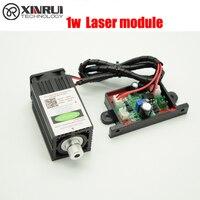 1000mw 450NM focusing blue laser module engraving TTL module 1w laser tube Laser module diode