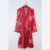 XIFENNI Amantes Albornoces Robe Sets Moda de Emulación de Seda Impresa Satén de Seda ropa de Dormir Batas Hombres Mujeres Camisones 520L2 M2