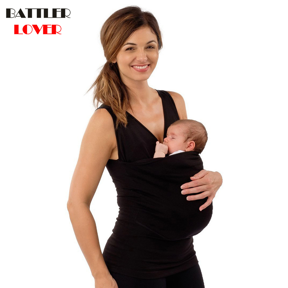 2018 Parenting Baby Carrier Mother Kangaroo T-shirt Women Sleeveless t shirt Womens tshirt Women Harajuku Kawaii Tee Shirt Femme