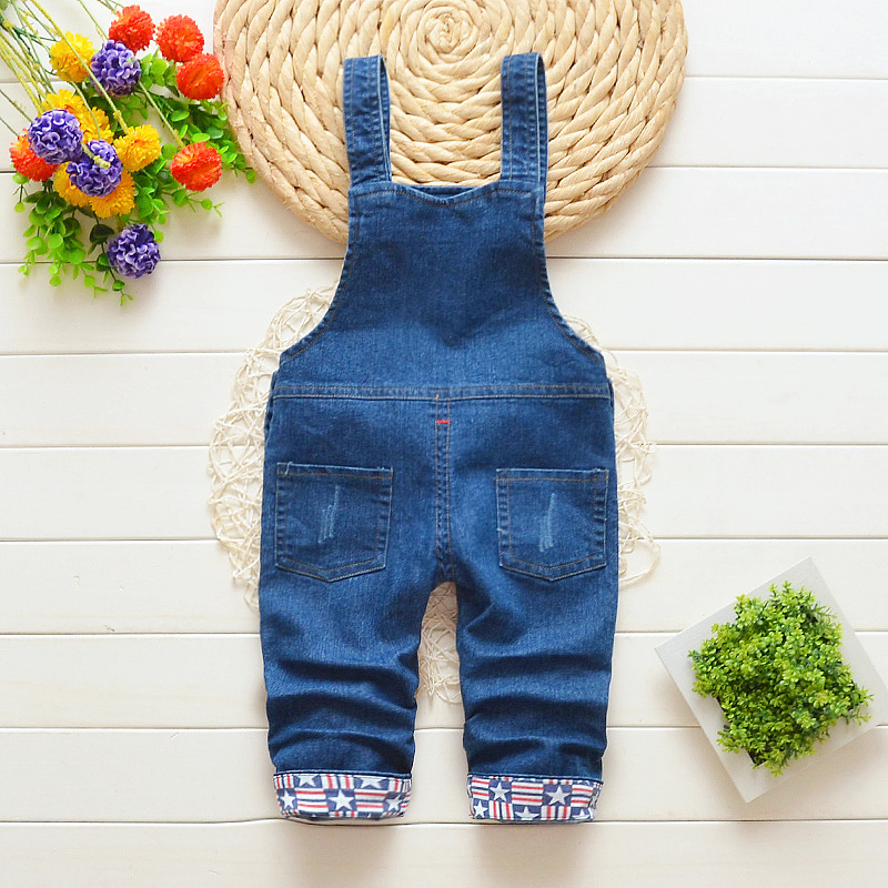 IENENS Baby Boy Clothes Denim Shorts Pants Toddler Infant Jeans Overalls Bottoms