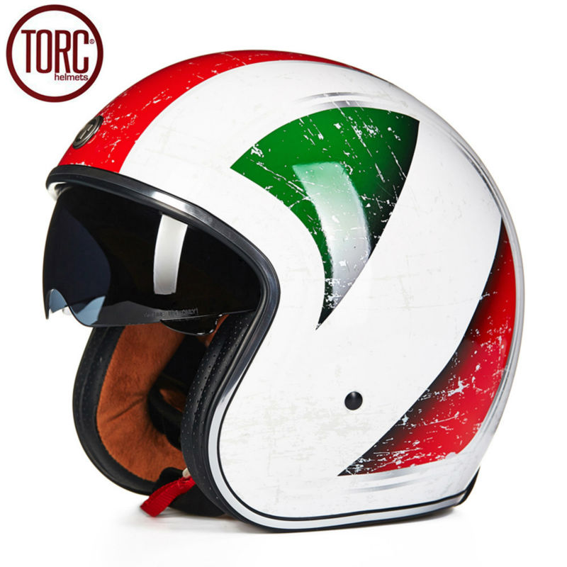 TORC Motorcycle Helmet Harley Open Face Vintage Cruiser Helmet T57G Moto Casque Casco motocicleta Capacete DOT Helmets