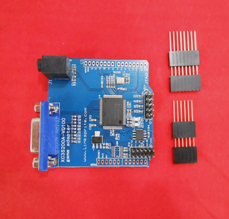 Fast Free Ship For Gameduino-for Arduino Game VGA Game development board FPGA with serial port Verilog code fast free ship for stm32 bc95 module bc95nb iot development nbiot development board iot development board