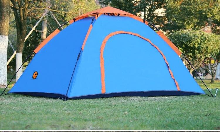 Бесплатная доставка костюм 1 2 человек Кемпинг Палатка Водонепроницаемый баррака палатка синий и серебряный naturehike палатка 2,5 кг - 3