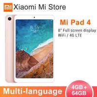 "Originale Xiao mi mi pad 4 Tablet pc 8.0 ""1920x1200 fhd mi UI 10 compresse SNAPDRAGON 660 octa Core Dual WiFi 13MP + 5MP Fotocamera 6000 mAh"