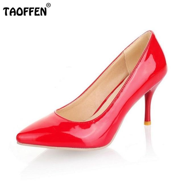 Размер 30-47 женщин туфли на каблуках офис дамы моды женщин мелкой партии сексуальные насосы моды обувь туфли на каблуках P23518