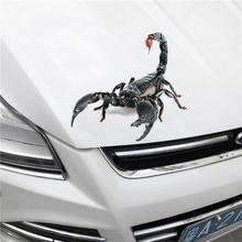 hot deal buy 3d auto sticker -scorpion lizard spider - die cut decal bumper sticker for windows, cars, trucks, laptops 18cm*16cm