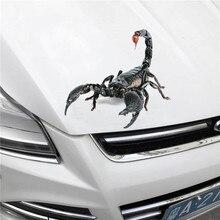 3D oto Sticker-akrep kertenkele örümcek-Die Cut çıkartması tampon Sticker için Windows, otomobil, kamyon, dizüstü bilgisayarlar ...