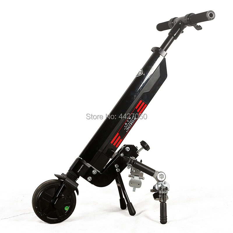 Ultra light battery mini drive head electric font b wheelchair b font accessories for elderly and