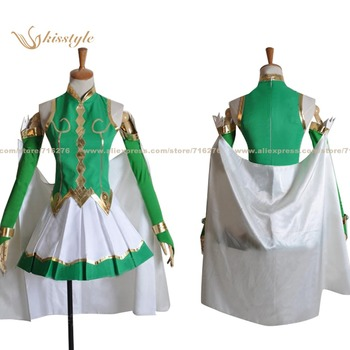 Kisstyle Fashion Noucome Aesthetica of a Rogue Hero Listy El Da Sherfied Princess Uniform COS Clothing Cosplay Costume image