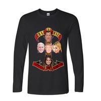 2017 Hot Selling Funny Guns N Roses Menber Funny Long TShirts Long Sleeve T Shirt Men
