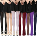 8 Colors Women's Spring Autumn Footed Thick Opaque Stockings Pantyhose Tights 120D High Elastic Hot Fashion Beauty