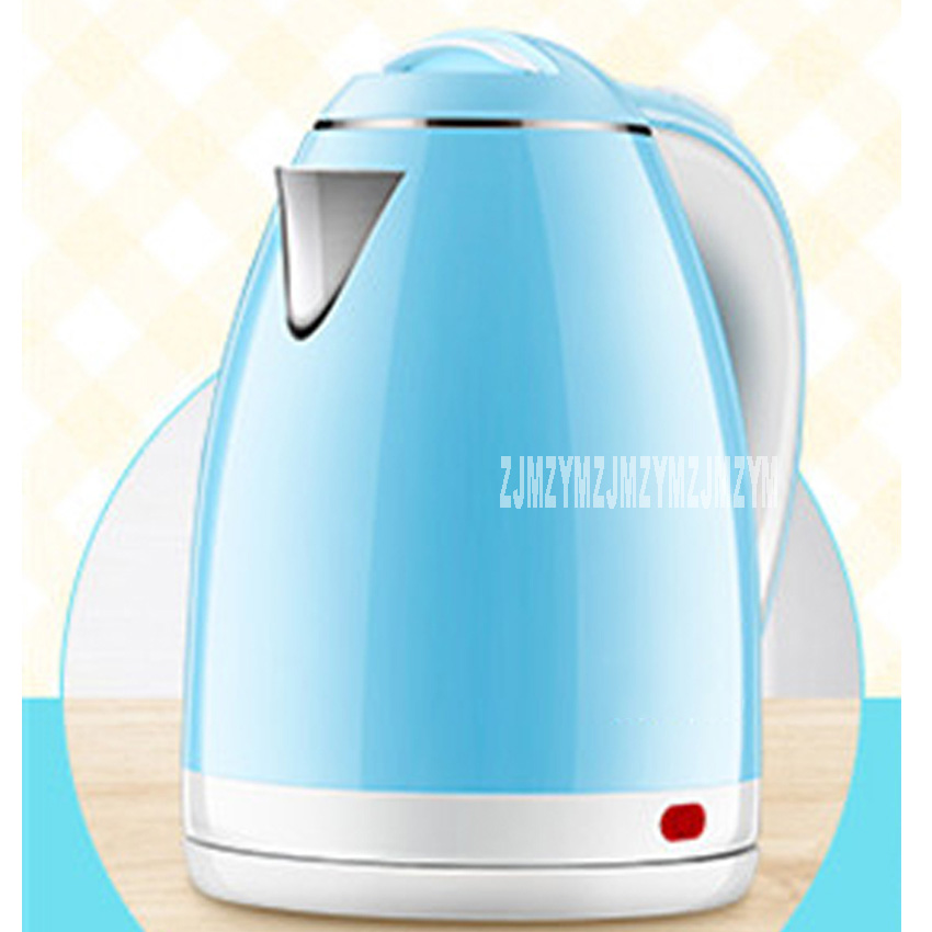 ZX-200B6 electric kettle 304 stainless steel food grade household kettle electric kettle kettle 2L 220V 1500W electric kettle