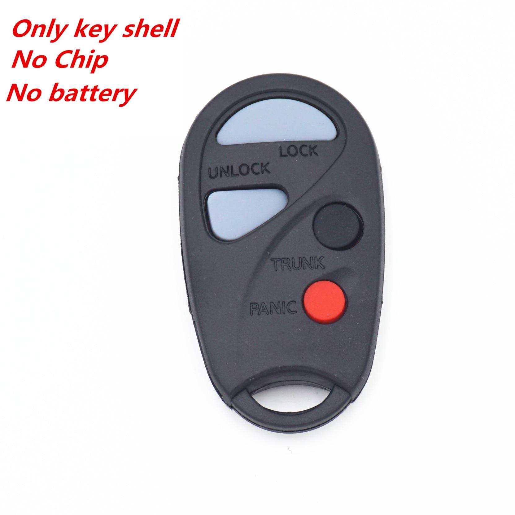 2 For 2000 2001 2002 2003 2004 Infiniti QX4 Ignition Chip Car Transponder Key