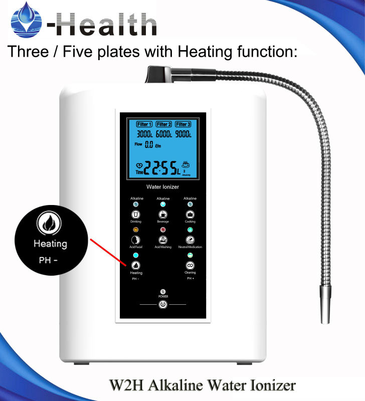 industrial under sink alkaline water machine220v oh 806 3h ce alkaline water ionizer with 3 stages filter. beautiful ideas. Home Design Ideas
