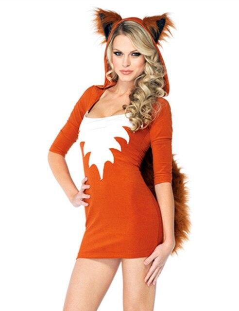 2017 Fire Fox Cosplay Costumes Fox Animal Queen Cosplay Costume Cat Girl Animal Nightclub Masquerade Clothes  sc 1 st  AliExpress.com & 2017 Fire Fox Cosplay Costumes Fox Animal Queen Cosplay Costume Cat ...