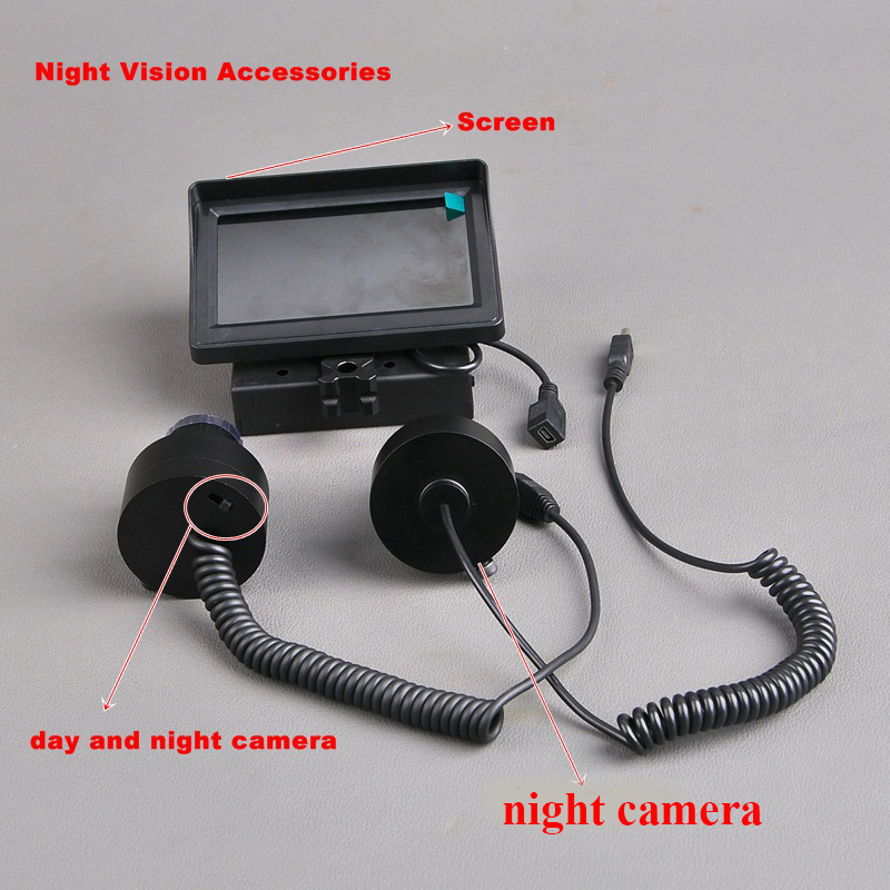 Night Vision Riflescope Hunting Camera Screen Night Vision Accessories Day and Night Vision Hunting night