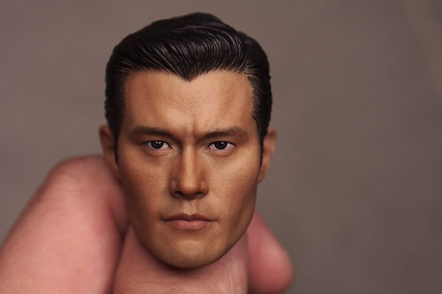1/6 terminateur de tête pour hommes asiatiques 5 Genesis Guardian nouveau T1000 Li Bingxian sculpture sur tête