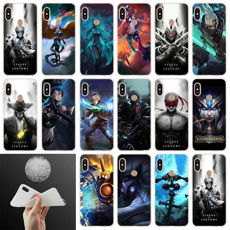 League of legends Soft Case Cover Voor Xiaomi Redmi Note 8 7 6 5 Pro 8a 7 6pro 6a s2 5a 4a 5plus y3 Coque Funda Etui Telefoon Gevallen