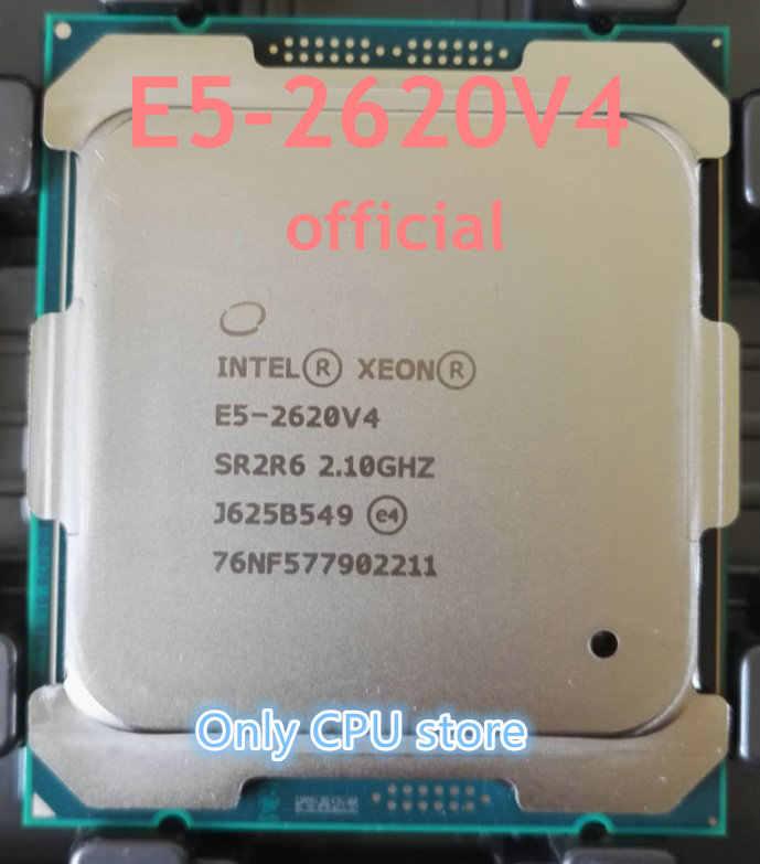 E5-2620V4 Original Intel Xeon E5-2620 V4 2,10 GHz 8-Core 20M DDR4 2133MHz E5 2620V4 FCLGA2011-3 85W 1 año de garantía