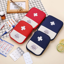 Portable Outdoor Travel First Aid Kit Medicine Storage Bag Mini Emergency Kit Bags Small Medical Box Organizer Pill Case Package