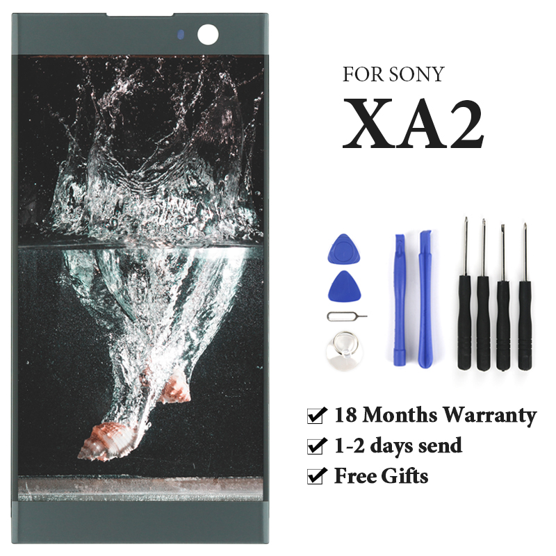 For Sony Xperia XA2 LCD Display With Touch Screen With Frame Assembly Replacement For Sony Xperia LCD H3113 H3123 H3133 H4113For Sony Xperia XA2 LCD Display With Touch Screen With Frame Assembly Replacement For Sony Xperia LCD H3113 H3123 H3133 H4113